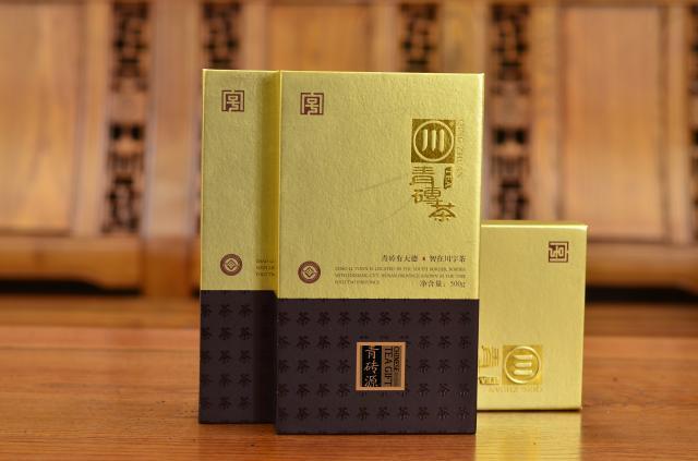 500克青磚茶硬盒