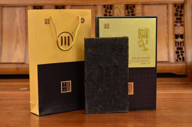 1000克青磚茶硬盒